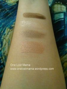 No Flash (Top to Bottom): Bronzed, Fancy Pants, Quick Sand, Wild Geranium
