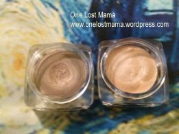Hard Candy Cream Eyeshadows in Quicksand and Fancy Pants