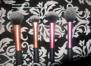 Real Techniques Powder Brush, Expert Face Brush, Multi-Task Brush, Blush Brush