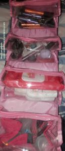 Makeup Bag Unrolled