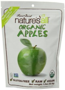 Nature's All Foods Freeze Dried Apples . THESE ARE SO YUMMY!  Gluten Free, Vegan