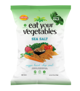 Snikiddy's Eat Your Vegetables in Sea Salt. Liam hasn't tried this yet, but I have and really like it! As someone who is not a veggie eater, I wouldn't have thought I would like something  made of veggies, but this is good! Going to try more! Gluten Free, Vegan