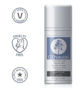 cropped oz naturals super youth eye gel